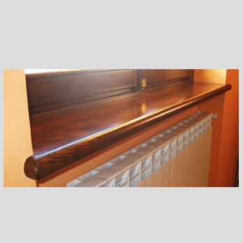 Falegnameria e serramenti cagna a front canavese torino - Davanzali in legno per finestre ...